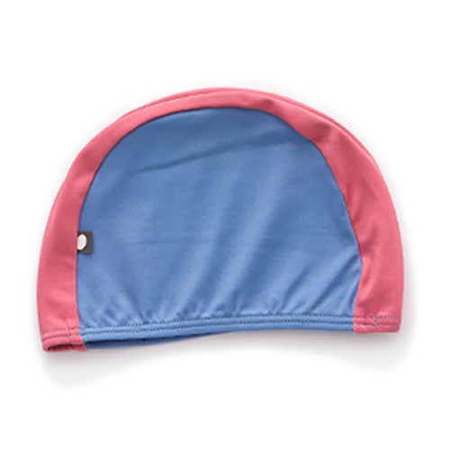 Oeuf Bathing Cap, Blue/Rust
