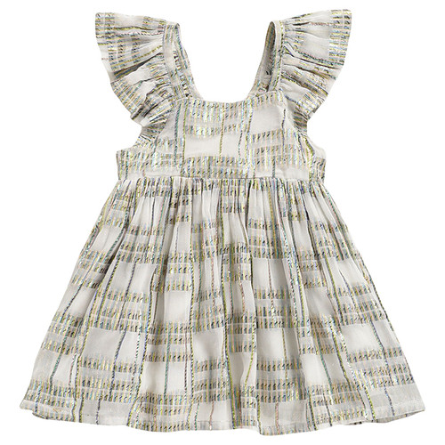 Louise Misha Salvador Dress, White Rainbow