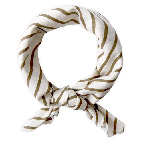 Neckerchief, Fennel Stripe