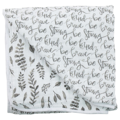 Muslin Quilt, Just Be/Leaves