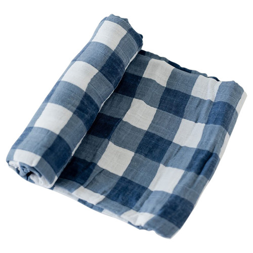 Muslin Swaddle, Jack Plaid