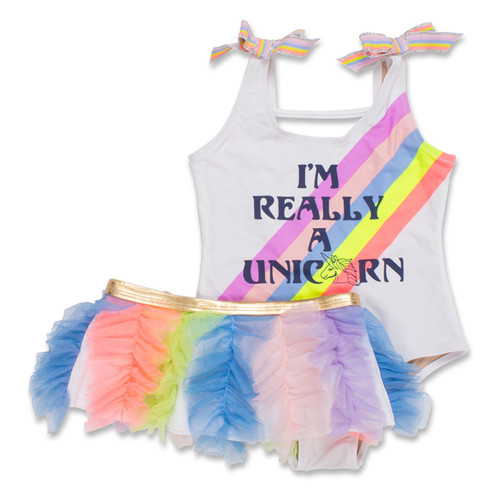 Swimsuit Set, I'm Really a Unicorn