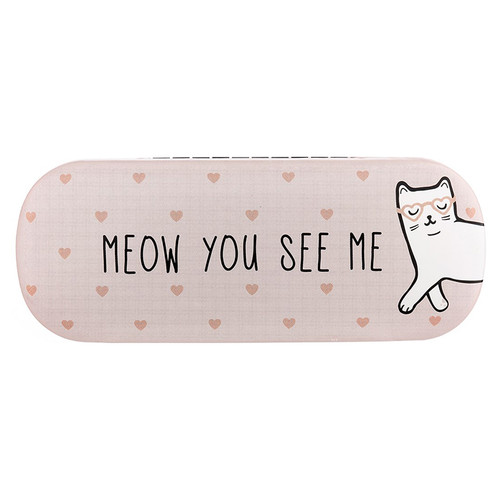 Glasses Case, Meow You See Me