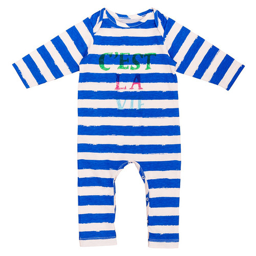 Jumpsuit, Blue Stripes