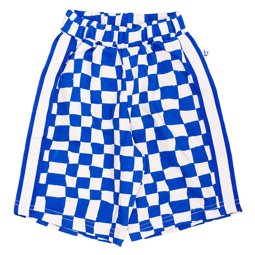 Bermuda Short, Blue Checker