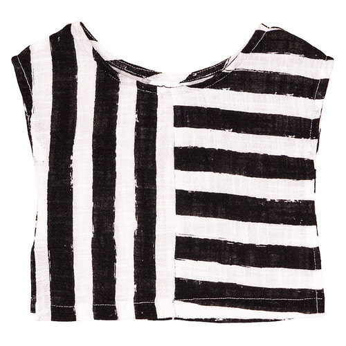 Square Top, Black Stripes