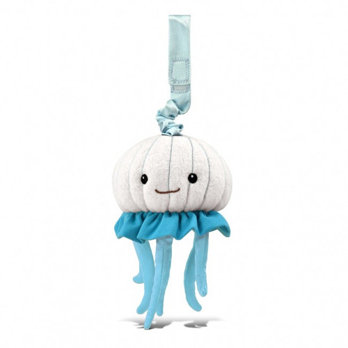Stroller Toy, Jellyfish White