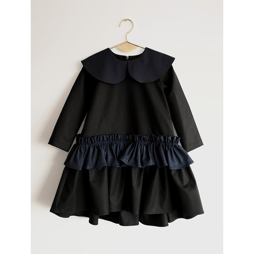 Wolf & Rita Adelaide Dress, Black/Navy