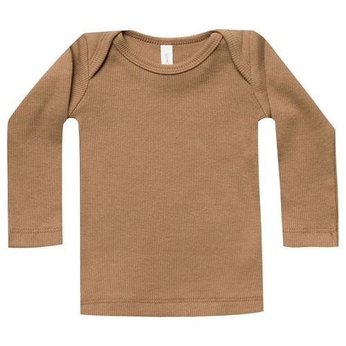 Ribbed Lap Tee, Copper