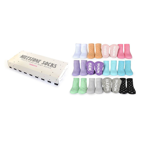 Socks Twelve Pack, Milestone