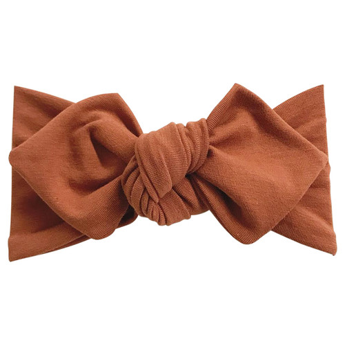 Top Knot Headband, Cocoa