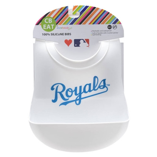 MLB Silicone Bib, Kansas City Royals