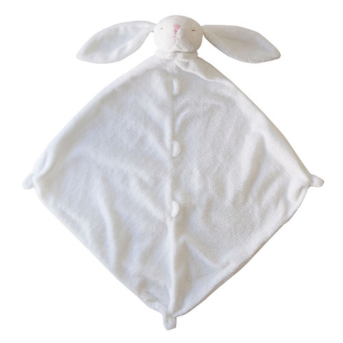 Bunny Security Blankie, White
