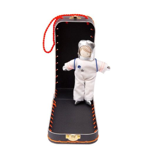 Mini Suitcase & Doll Set, Astronaut