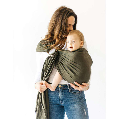 Ring Sling, Evergreen Linen