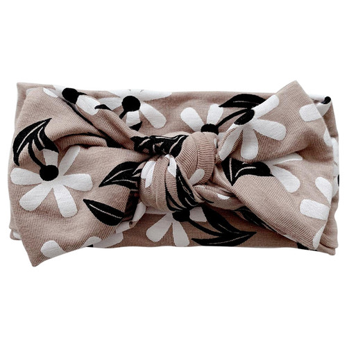 Knot Bow, Clay Floral