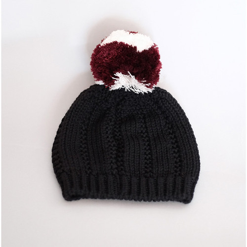 Wolf & Rita Knit Hat, Black