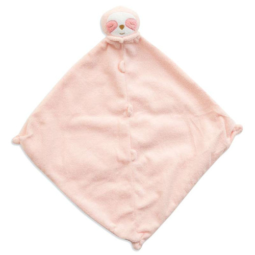 Pink Sloth Security Blankie