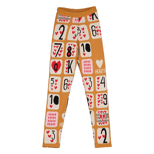 Slim Knit Pants, Game of Hearts