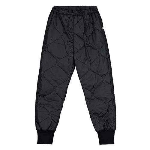 Quilted Pants, Black