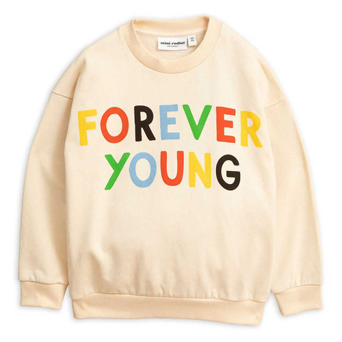 Mini Rodini Sweatshirt, Forever Young