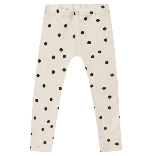 Rylee & Cru Knit Legging, Wheat Dot