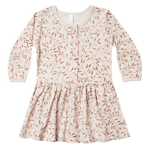 Rylee & Cru Button Up Dress, Vines