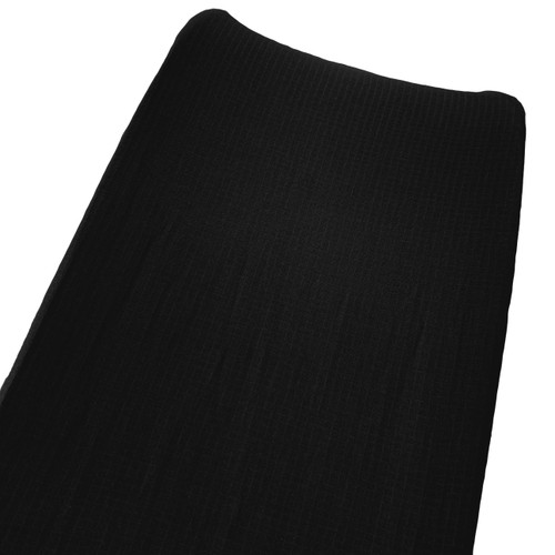 Muslin Changing Pad Cover, Black