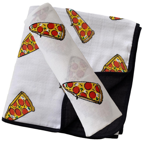 Swaddle & Quilt Bundle Set, Pizza
