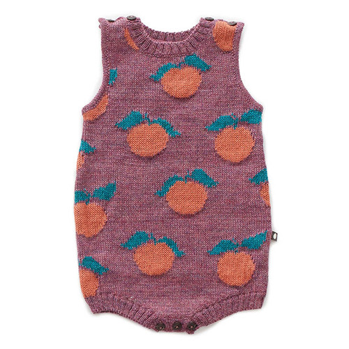 Oeuf Clementine Tank Bodysuit, Mauve
