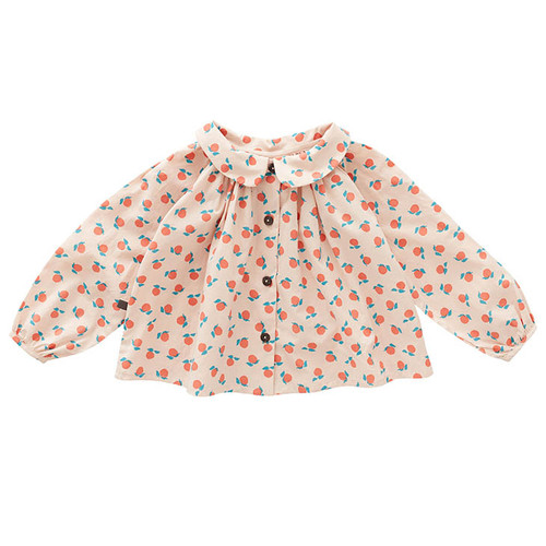 Oeuf Clementine Blouse, Light Pink