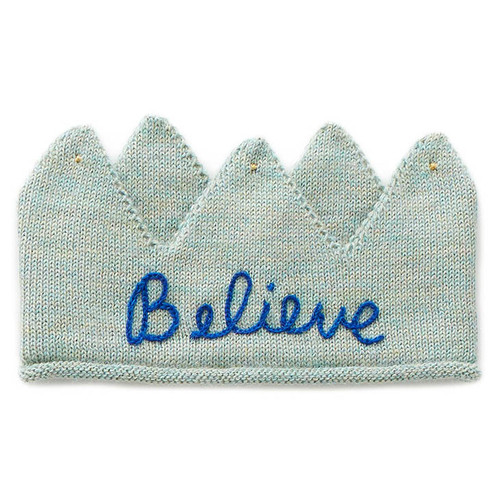 Oeuf Embroidered Crown, Believe