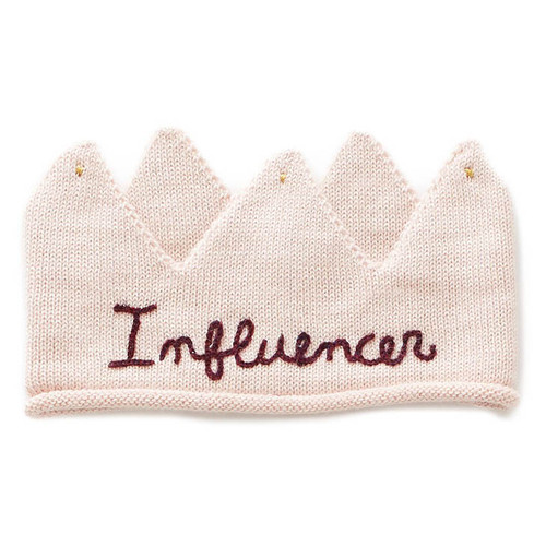 Oeuf Embroidered Crown, Influencer