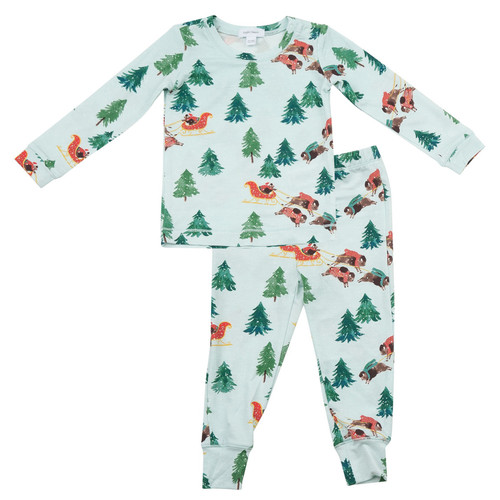 2-Piece Set, Christmas Bison