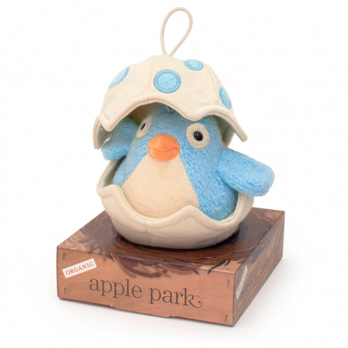 Musical Baby Birdy Pull Toy, Blue