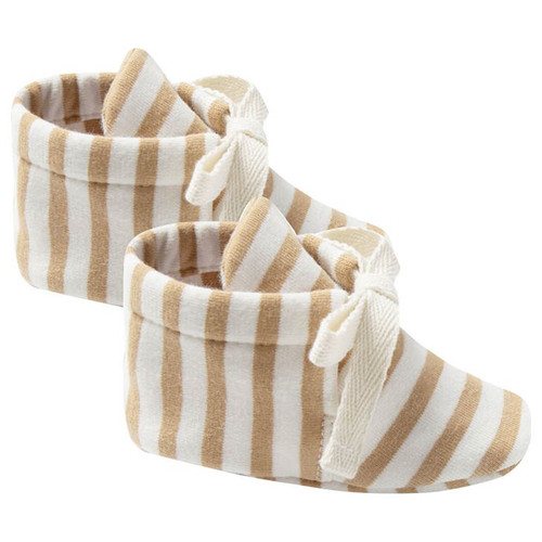 Booties, Honey Stripe