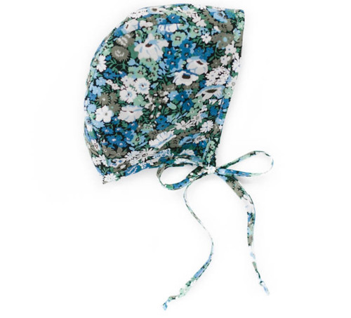 Clover Field Liberty Baby Bonnet