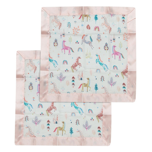 Security Blanket 2-pack, Unicorn Dream