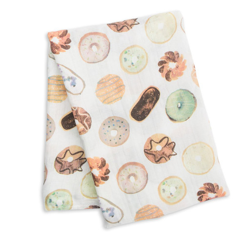 Cotton Swaddle, Donuts