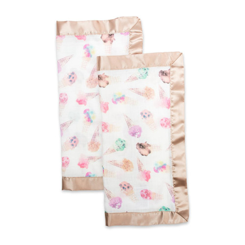Security Blanket 2-pack, Ice Cream