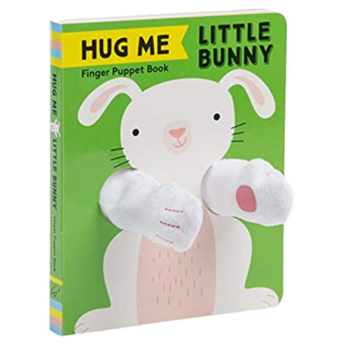 Finger Puppet Book, Hug Me Little Bunny