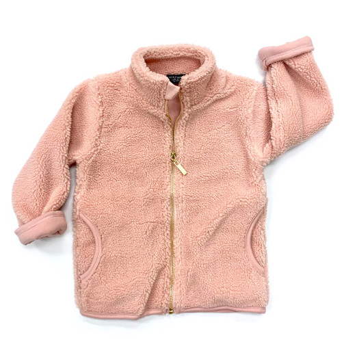 Sherpa Jacket, Blush