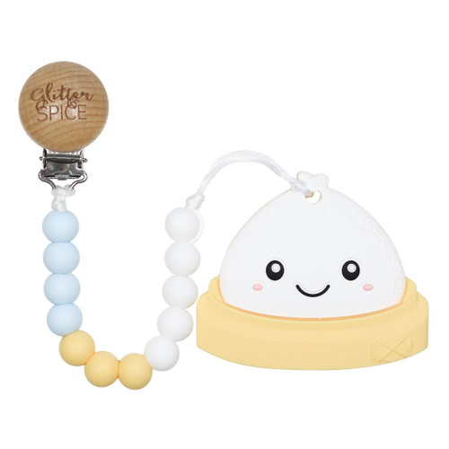 Teether with Clip, Dim Sum