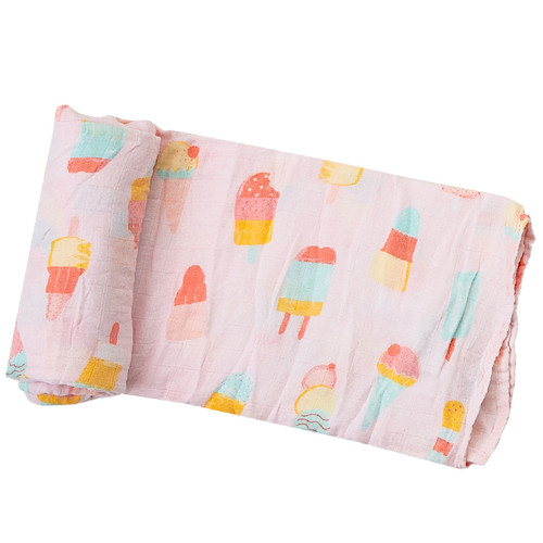 Cool Sweets Muslin Swaddle Blanket
