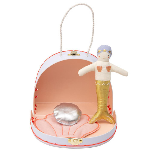 Mini Suitcase, Mermaid