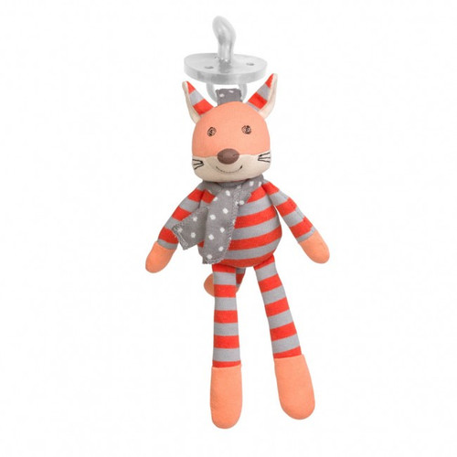 Organic Frenchy Fox Pacifier Buddy