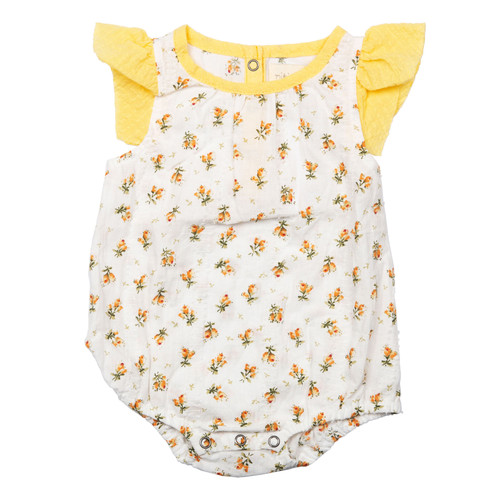 Isidora Bodysuit, Dainty Yellow Floral