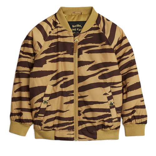 Mini Rodini Baseball Jacket, Tiger