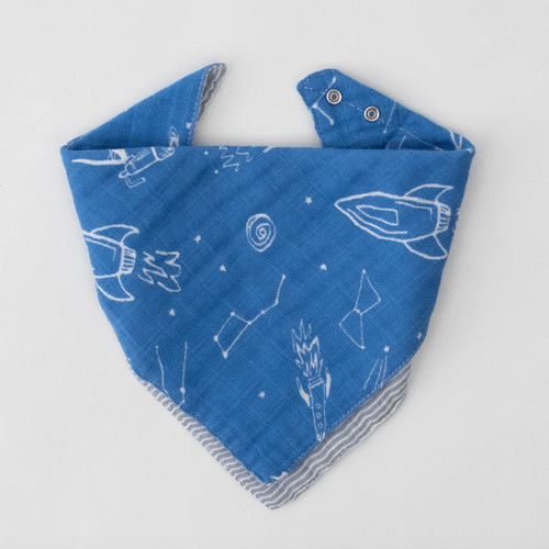 Reversible Bandana Bib, Star Gaze