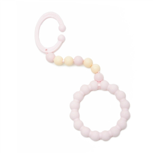 Chewbeads® Baby Gramercy Teether Stroller Toy, Blush